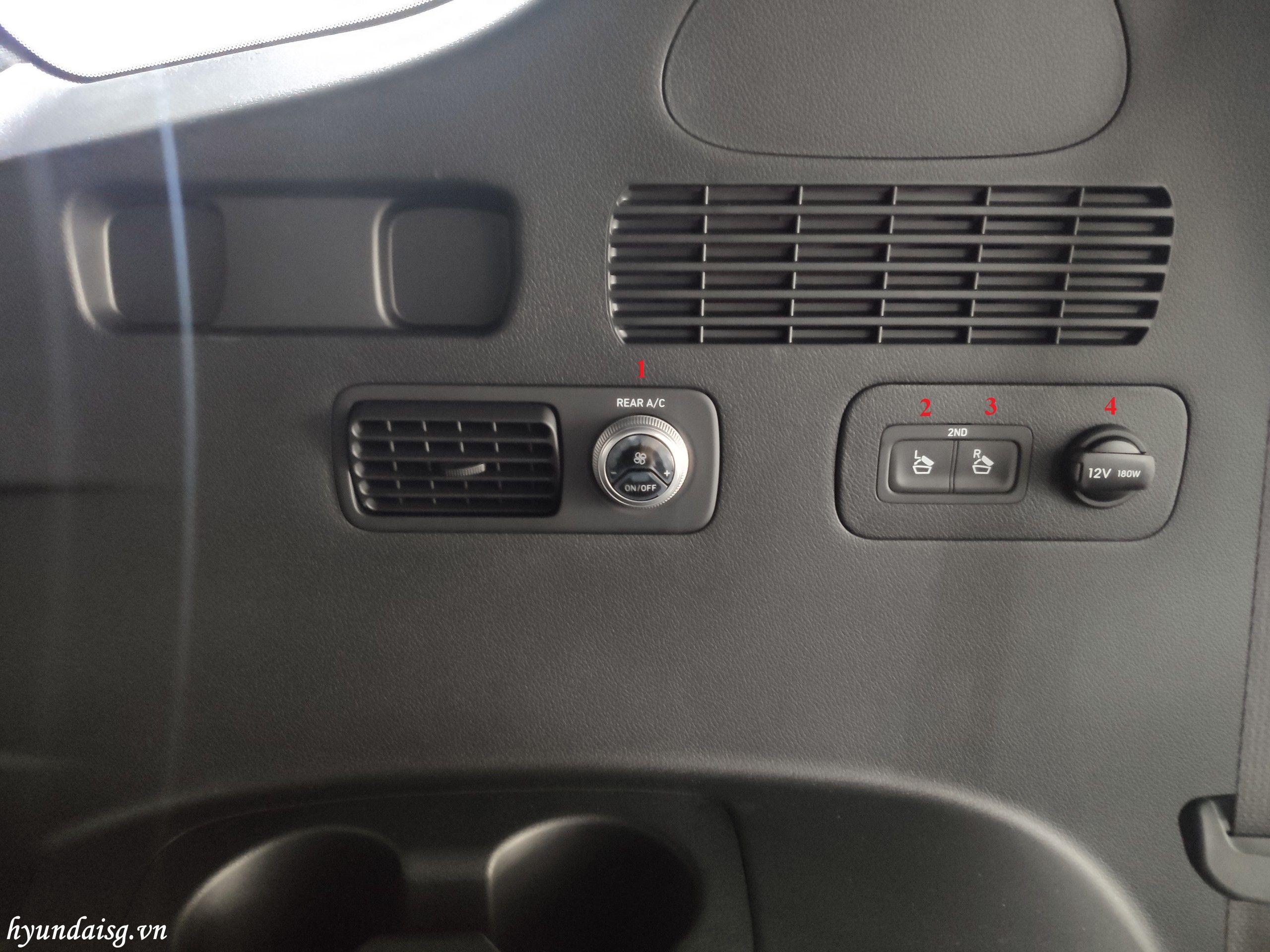 Hình Ảnh Hướng dẫn sử dụng xe Hyundai Santafe cho người mới 26
