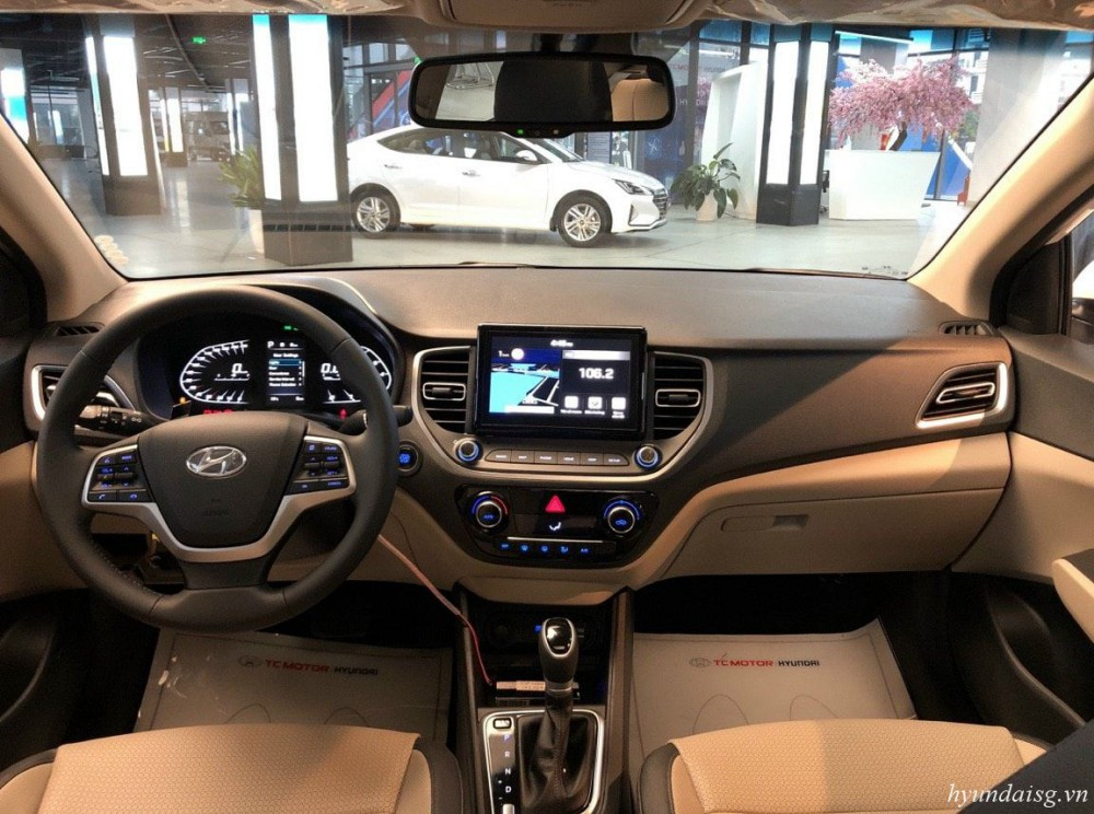 Hình Ảnh Hyundai Accent 2021 ra mắt, nhiều tính năng mới giá không đổi 3