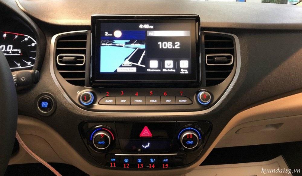 Hình Ảnh Hướng dẫn sử dụng xe Hyundai Accent cho người mới (model 2021) 18