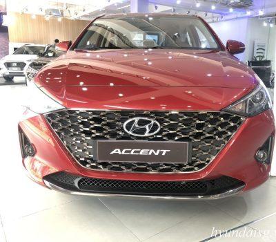 Hình ảnh Hyundai Accent AT 2021 màu đỏ