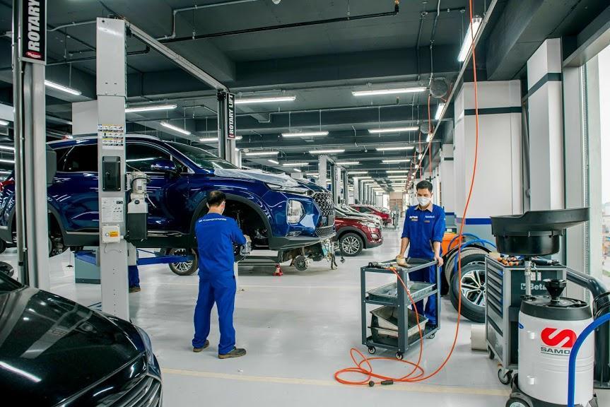 Hình Ảnh Bảo dưỡng xe Hyundai khu vực TP.HCM ? 5