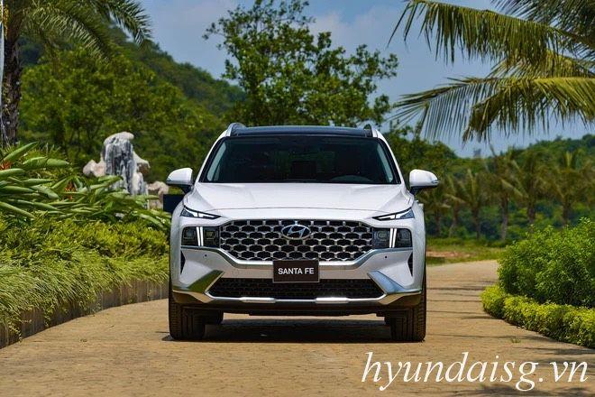 Hình Ảnh Giá Hyundai Santafe 2021 lăn bánh tại TP.HCM ? 9