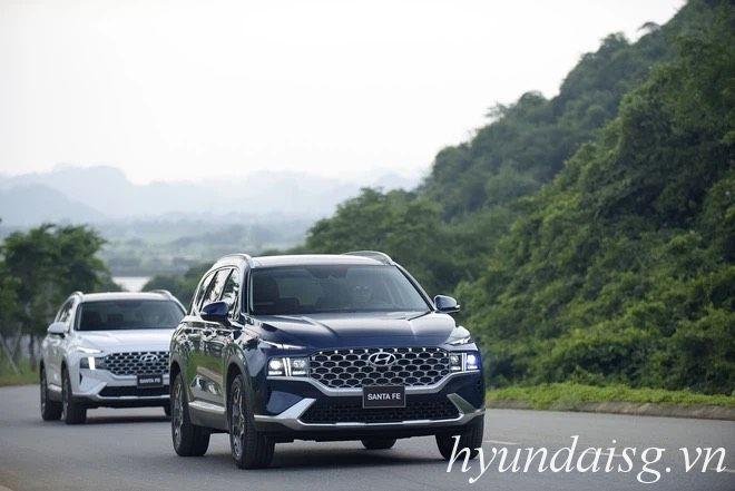Hình Ảnh Giá Hyundai Santafe 2021 lăn bánh tại TP.HCM ? 10