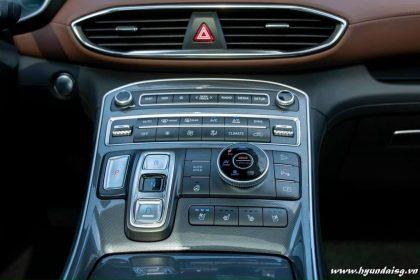 Hình ảnh Nội thất Hyundai Santafe 2021 (bản cao cấp)