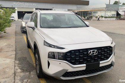 Giá Hyundai Santafe 2021 lăn bánh tại TP.HCM ?