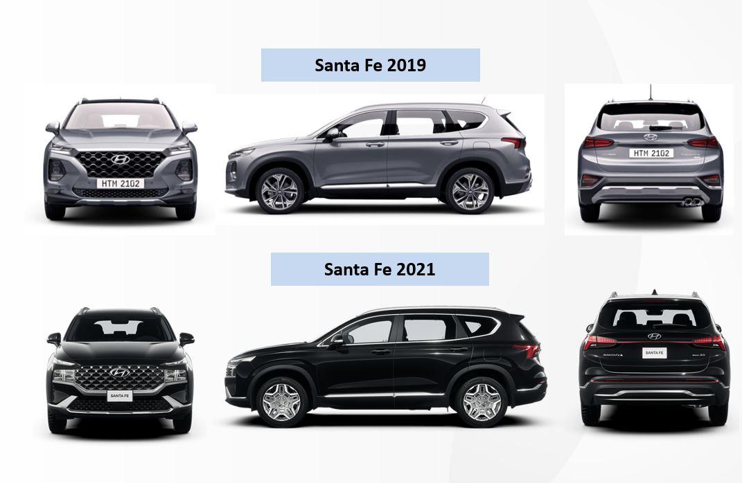 Hình Ảnh Hyundai Santafe 2021 chính thức ra mắt tại Việt Nam 77