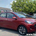Hình ảnh Hyundai Grand I10 Hatchback 2021 màu đỏ  (số tự động)