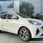 Hình ảnh Hyundai Grand I10 Sedan 2021 màu trắng (số tự động)